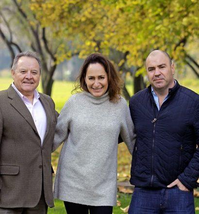Héctor Vergara, Pilar Rodríguez y Patricio Tapia
